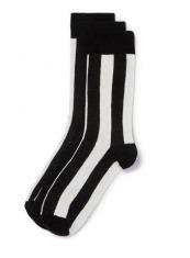 10PLUS6 TOPMAN 男款袜子——黑白世界套装