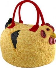 怪品味 母鸡包母鸡 造型手提包 限时特价
