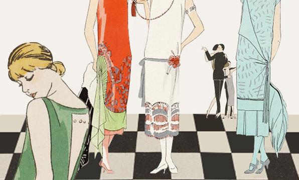 20年代的贵妇都穿什么,英国V&A博物馆告诉你/20年代的贵妇都穿什么