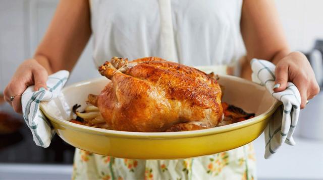跟美国厨神学做一只法式优雅的烤鸡/跟美国厨神学做一只法式优雅的烤鸡