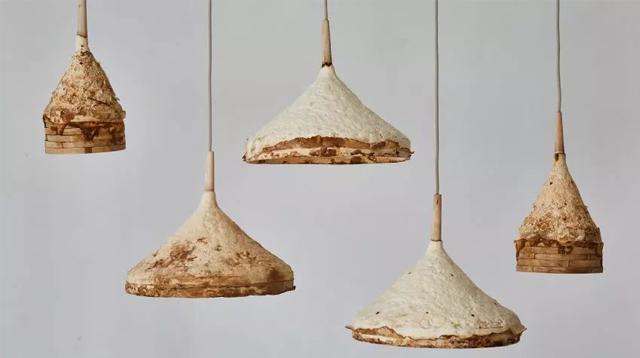 用来涮火锅的毛肚、菌菇,竟被设计师拿来造这些!/用来涮火锅的毛肚、菌菇,竟被设计