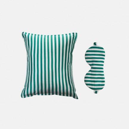 颜色/绿白条纹
