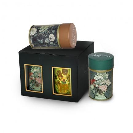 颜色/四罐装茶叶礼盒