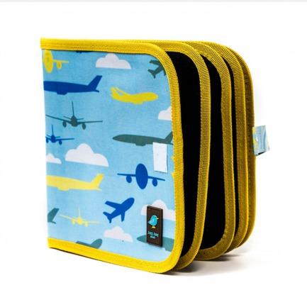 颜色/Aeroplane花纹-飞机(附4粉笔)+12色粉笔套装