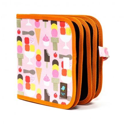 颜色/Icecream花纹-冰激淋(附4粉笔)+12色粉笔套装