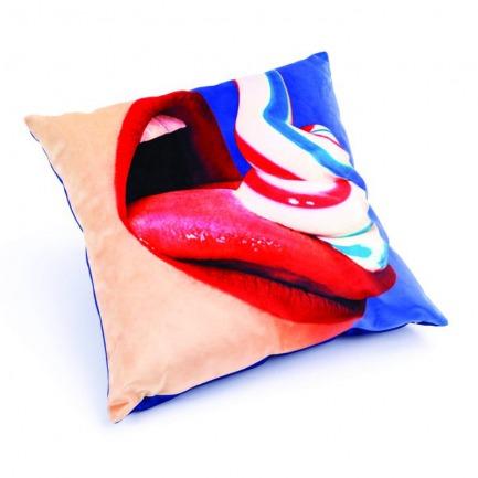 颜色/丝绒枕套-牙膏
