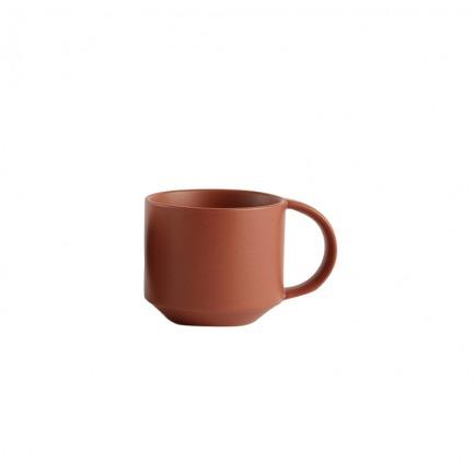 颜色/珊瑚红马克杯