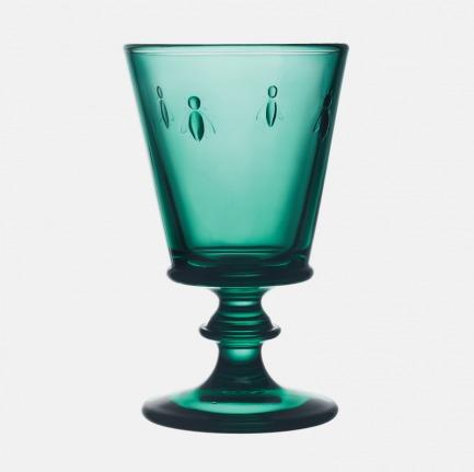 颜色/祖母绿蜜蜂高脚杯