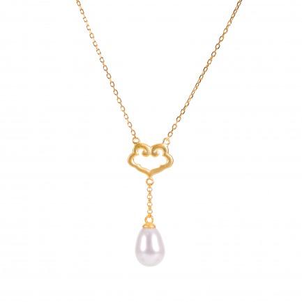 颜色/珍珠项链