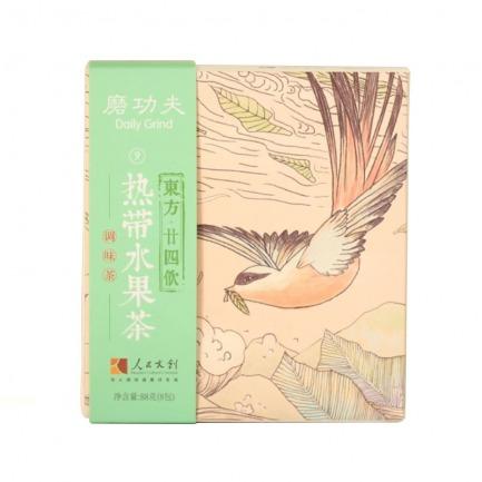 颜色/热带水果茶(8包)