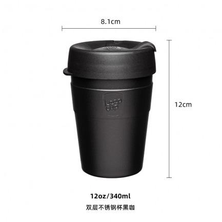 颜色/双层不锈钢杯黑咖啡