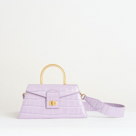颜色/紫色鳄鱼纹