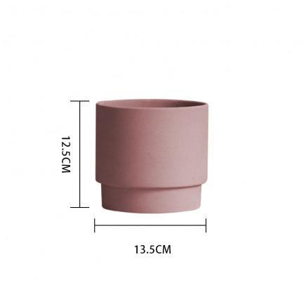 颜色/珍珠粉花盆