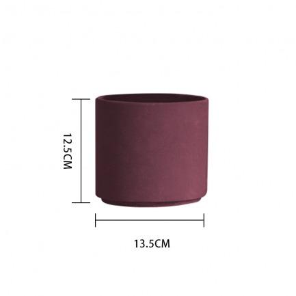 颜色/胭脂红花盆