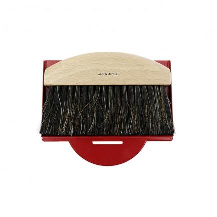 颜色/典雅红桌面清洁刷簸箕两件套