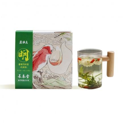 颜色/香菊竹叶茶50g(10包)