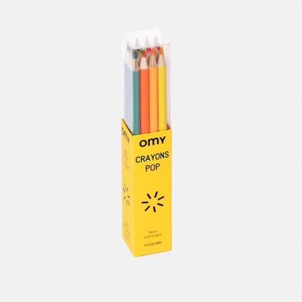 颜色/16色彩色铅笔套装