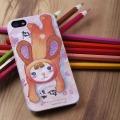 香港H2W原装正品【限量版】Iphone5 苹果5 手机壳 卡通动漫 FION