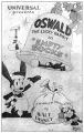 Disney Oswald 幸运兔子 18寸 46cm