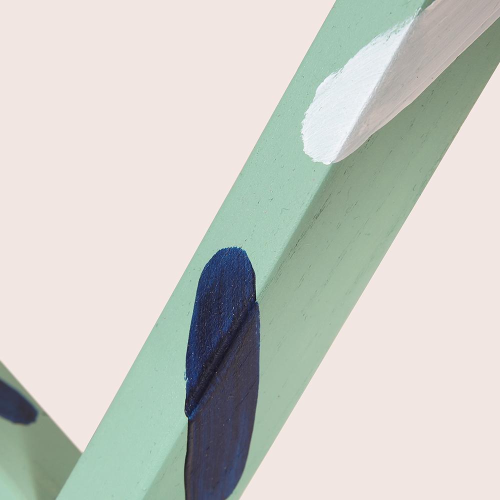 马扎(绿色支架)