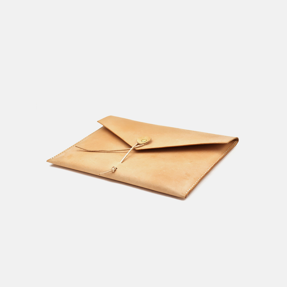 iPad植鞣皮信封包