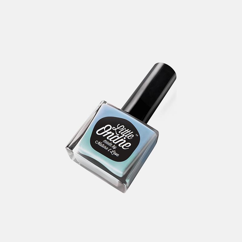水性指彩-光变蓝绿L516   天然环保不刺鼻 不伤指甲