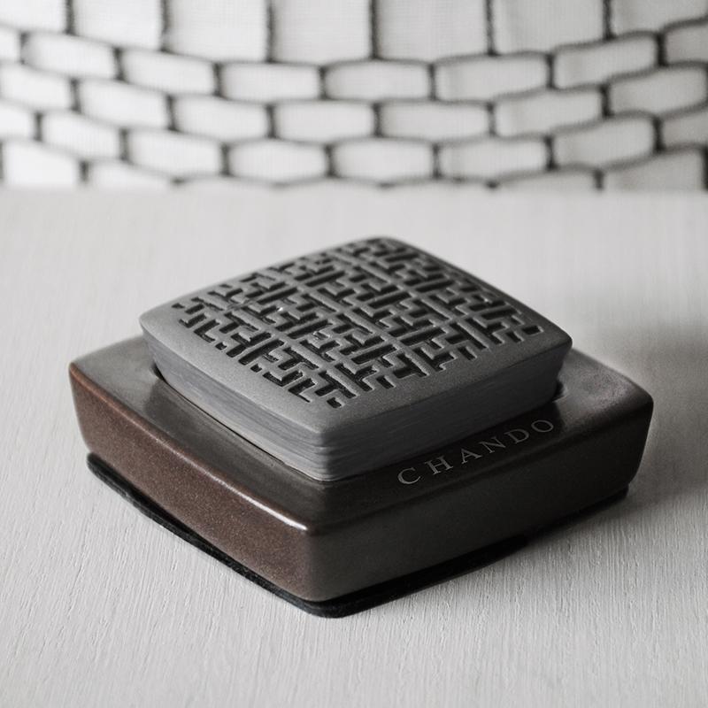 御守护 黑色车载香氛10ml | 古典迷宫图案 暗香浮动