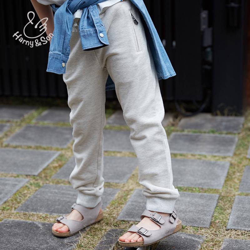 纯棉运动长裤