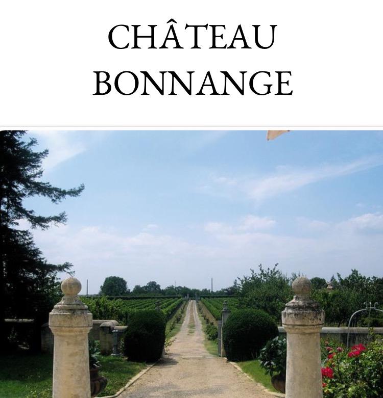 Château de Bonnange 博雫城堡干红葡萄酒