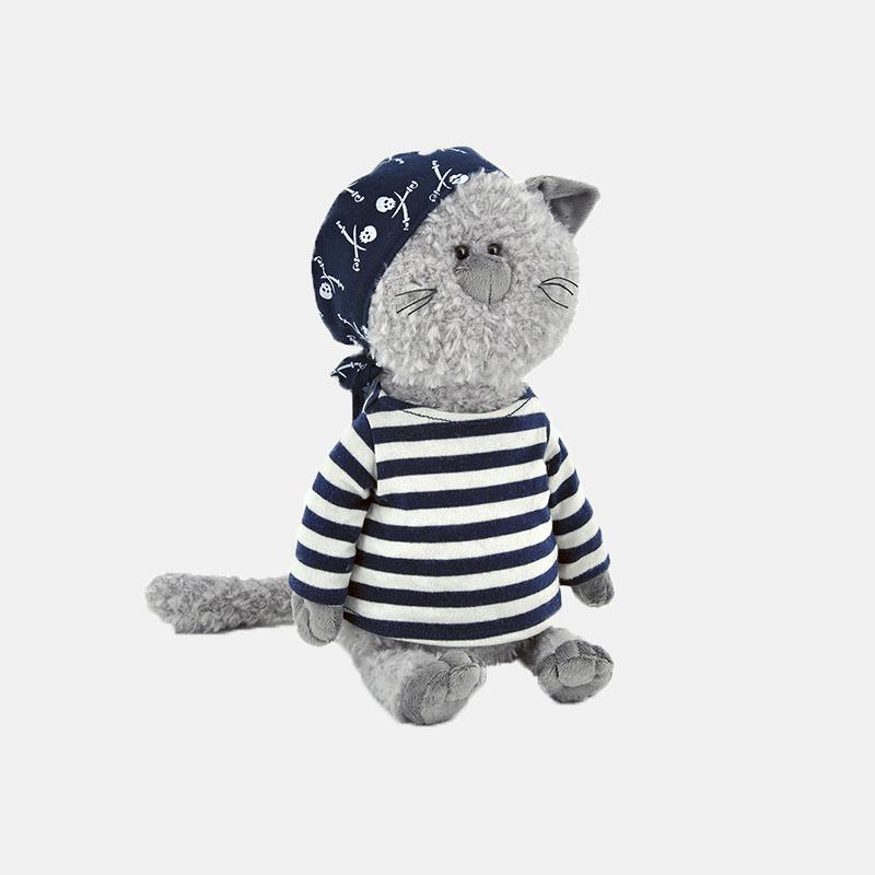 海盗装小猫玩偶 | 陪伴孩子成长的最好礼物