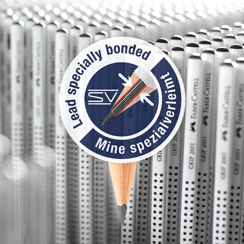 松木铅芯三角HB铅笔 | SV抗折断技术 防滑设计